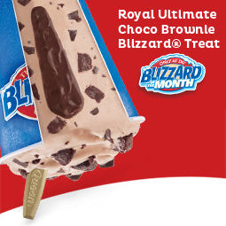 Dairy Queen Blizzard of the Month (Feb 2017): Royal Ultimate Choco Brownie Blizzard® Treat