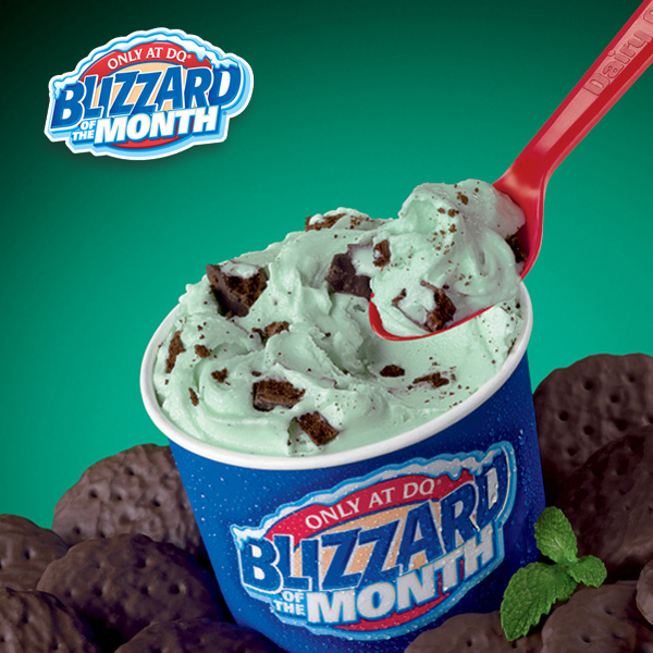 Dairy Queen Blizzard of the Month (Mar 2017): Mint OREO® Blizzard® Treat
